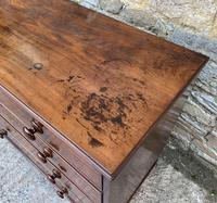 Antique Mahogany Chest of Drawers on Bracket Feet (10 of 12)