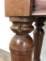 Long Victorian Mahogany Hall Bench (2 of 11)