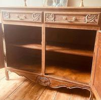 French Antique Rustic Cupboard / Normandy Buffet / Oak Sideboard (5 of 5)