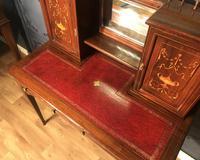 Edwardian Inlaid Rosewood Desk (7 of 23)