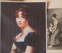 Miniature Portrait Josephine 1st Wife of Napoleon (4 of 6)