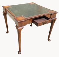 Unusual Games / Card Table in Mahogany (5 of 5)