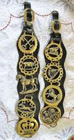 Antique English Victorian Five Brass Martingale (3 of 4)