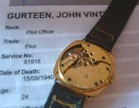 WW2 9ct Gold Longines Gentlemans Wrist Watch 1937 Hurricane Pilot Providence (8 of 12)