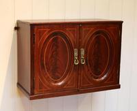 Edwardian Mahogany Wall Cabinet (2 of 7)