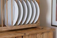 Antique Pine Freestanding Plate Rack (20 of 20)