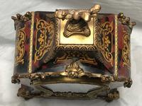 Large Fine Louis XVI Style Gilt Ormolu Marquetry Boulle Mantle 8 Day Clock (6 of 12)