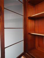 Antique George IV Mahogany 2 Door Cabinet Bookcase (8 of 13)