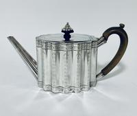 18th Century Georgian Solid Sterling Silver Teapot (4 of 16)