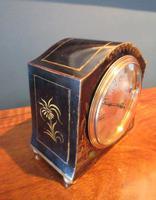 Small Edwardian Chinioserie Mantel Clock (4 of 8)
