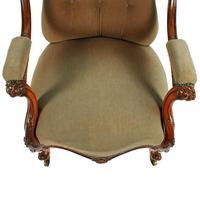 Victorian Rosewood Gent's Armchair (5 of 8)