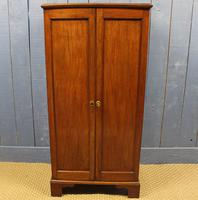 Small Mahogany Bedroom or Office Cabinet. 19th Century (7 of 10)