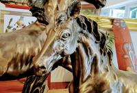 Mare & Foal Brass Fairestware - Heavy (3 of 5)