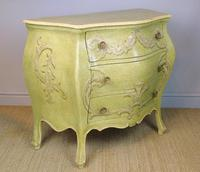 Vintage Italian Painted Bombe Commodes Harrods (6 of 10)