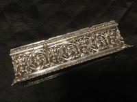 Edwardian Irish Silver Plated Trinket or Jewellery Box (9 of 12)