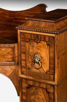 Regency Period Bow & Breakfront Mahogany Sideboard (8 of 8)