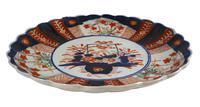 Meiji Period Scallop Edged Imari Plate (3 of 5)