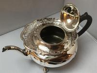 Solid Silver Edwardian Tea Set (7 of 9)