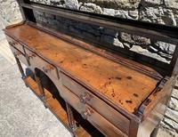 Antique Georgian Oak Potboard Dresser (12 of 28)