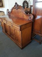 Victorian 4 Drawer Sideboard (5 of 5)
