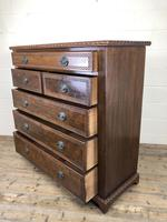 Large Late Victorian Mahogany Chest of Drawers (7 of 11)