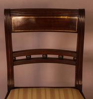 Good Set of 8 Regency Period Dining Chairs in Mahogany (7 of 13)
