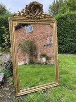 Large antique French gilt mirror (6 of 8)
