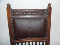 E.W Godwin Set of Four Chairs (3 of 6)