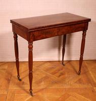 Mahogany Restoration Period Games Table 19th Century (4 of 11)