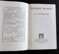 1934 Uneasy Money by P G Wodehouse with Original Dust Jacket (2 of 4)