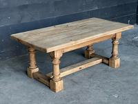 French Bleached Oak Coffee Table (5 of 11)