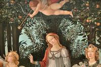 After Sandro Botticelli Large 20th Century Old Master Framed Coloured Print (6 of 13)