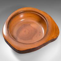 Pair Of Antique Carved Lidded Bowls, Treen, English, Yew, Victorian, Circa 1900 (10 of 12)