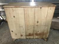 Victorian Large Stripped Pine Chest of Drawers (4 of 6)