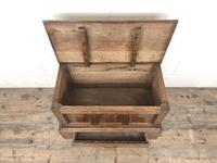 18th Century Style Welsh Oak Coffer Bach (9 of 12)