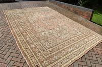 Antique Tabriz roomsize carpet 378x270cm (6 of 6)