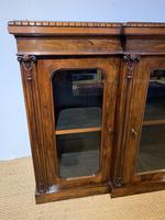 Rosewood Breakfront Bookcase (12 of 15)