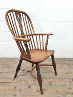 Antique Windsor Armchair in Elm & Ash (8 of 12)