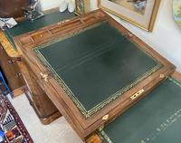 Victorian Brass-bound Walnut Writing Slope with Secret Drawers (16 of 39)