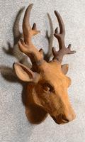 Cast Iron Stags Head, Cast Iron Garden Ornament (5 of 7)