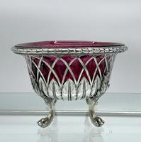 18th Century Antique George III Sterling Silver Dish London 1795 William Pitts & Joseph Preedy (2 of 11)