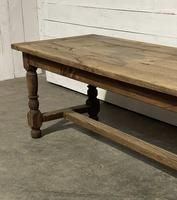 Rustic French Oak 19th Century Farmhouse Kitchen Table (6 of 31)