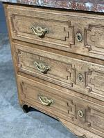 French 18th Century Marble Top Commode Chest (20 of 23)