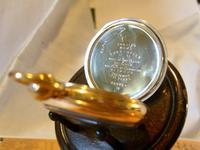 Antique Omega Labrador Pocket Watch 1912 15 Jewel 10ct Rose Gold Filled Case FWO (9 of 12)