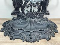 Art Nouveau Style Black Heavy Cast Iron French Nubile Umbrella Stand Corneau Alfred A Charlesville No 27 (15 of 41)
