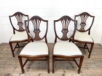 Set of Four 20th Century Mahogany Dining Chairs (2 of 10)