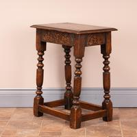 Carved Oak Joint Stool (7 of 15)
