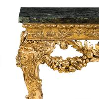 Imposing Victorian giltwood console table in the manner of William Kent (8 of 8)