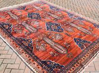 Old Afshar Carpet 305x209cm (8 of 9)