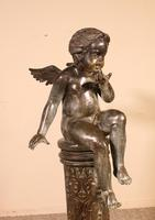 Bronze representing an Angle Sitting on a Column (4 of 14)